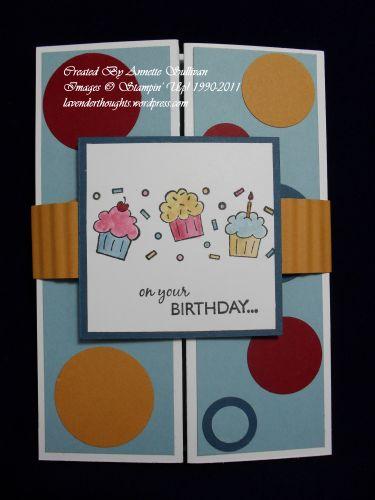 Gatefold Birthday