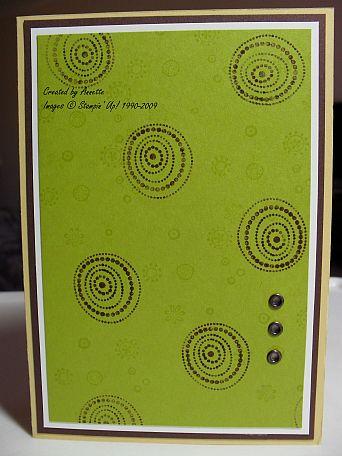 Kiwi Kiss Polka Dots