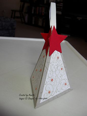 Christmas Tree Box Sahara Red
