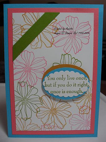 Fifth Ave Floral Turquoise