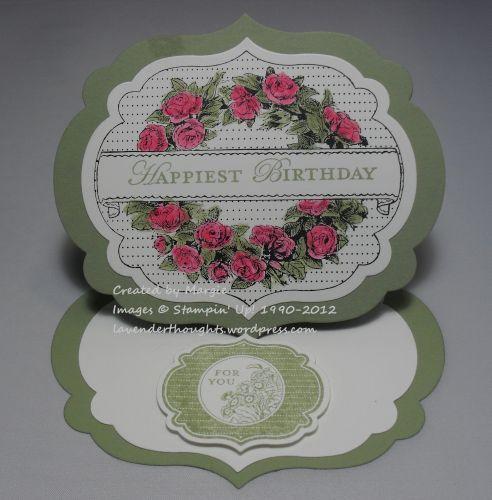 Framelits Easel Card