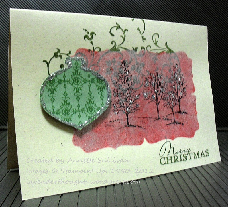 Lovely As A Tree Contempo ChristmasShimmer