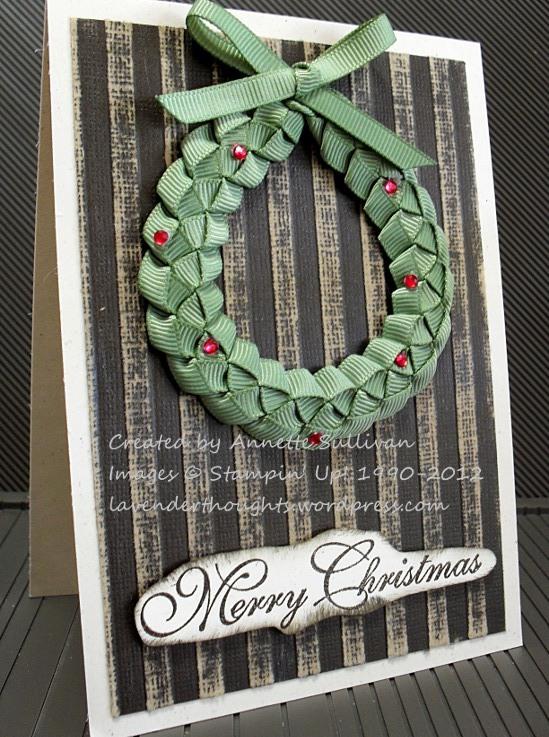 Woven Ribbon Wreath