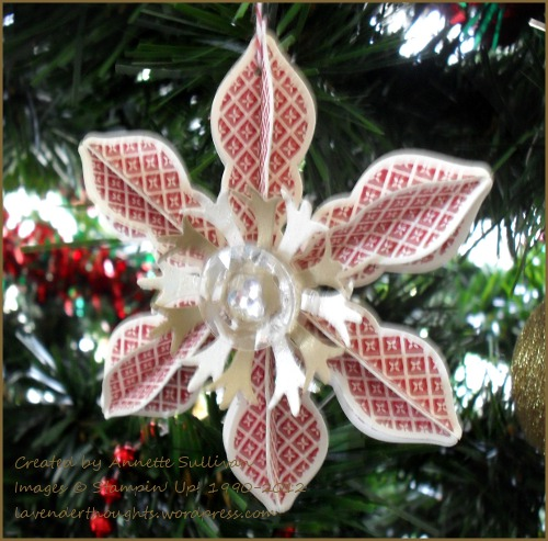 Holiday Ornament Cherry Cobbler