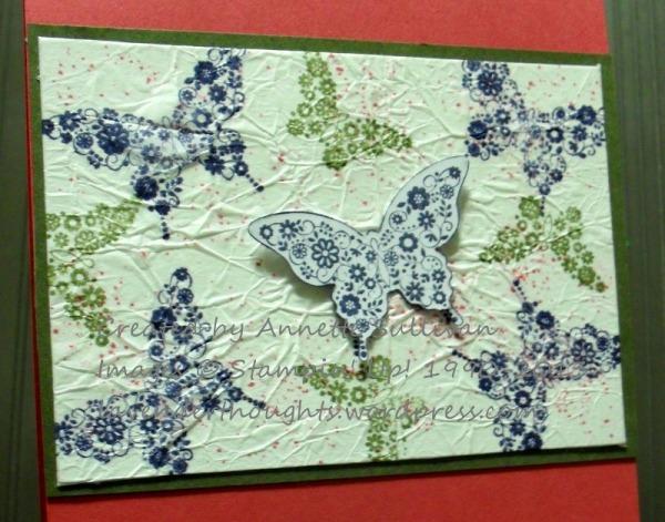 Papillon Potpourri Faux Silk