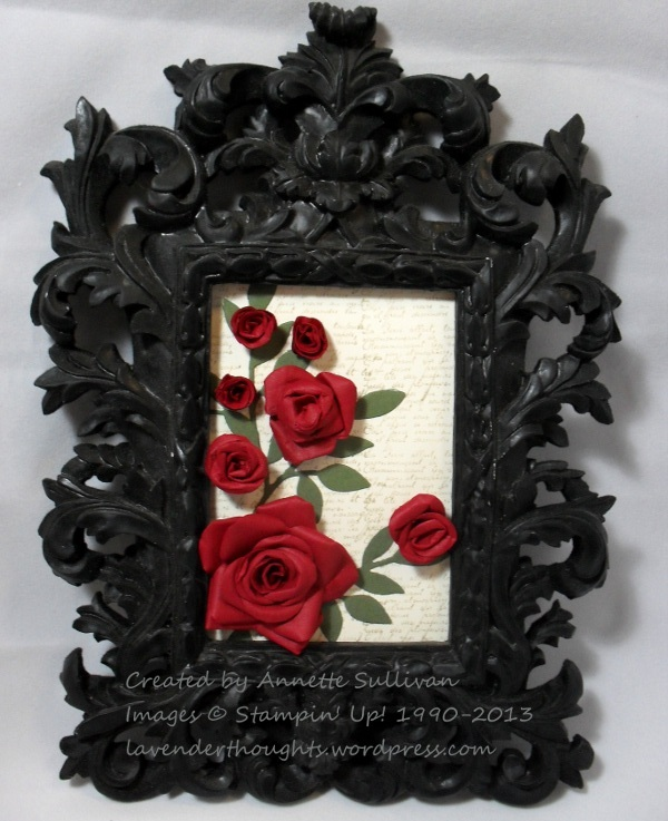 Fancy Flower RoseFrame