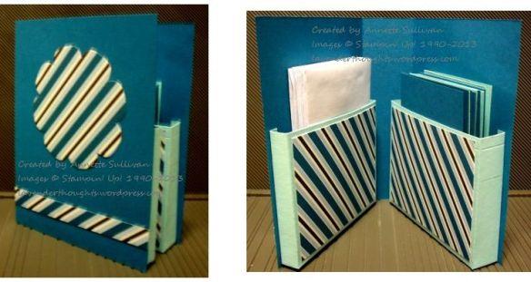 Festival of Prints Indigo Card Box CA
