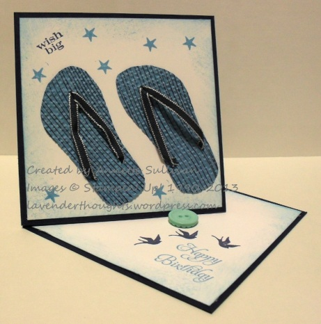 Pennant Parade Flip Flop Twisted Easel