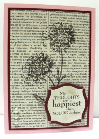 Field Flowers First Edition Burgundy Pirouette