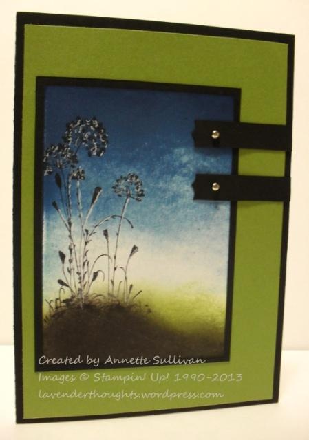 Serene Silhouettes Brayered Olive