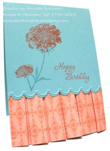 Field Flowers Calypso Breeze Box Pleat