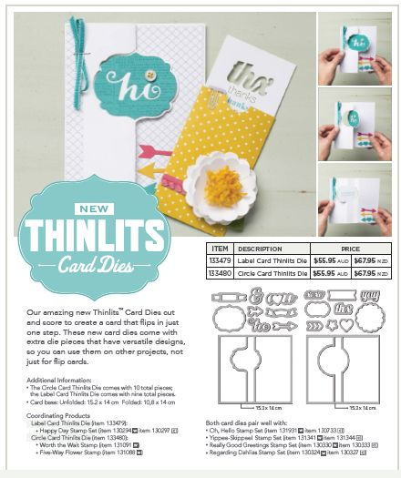 Thinlits Card Dies