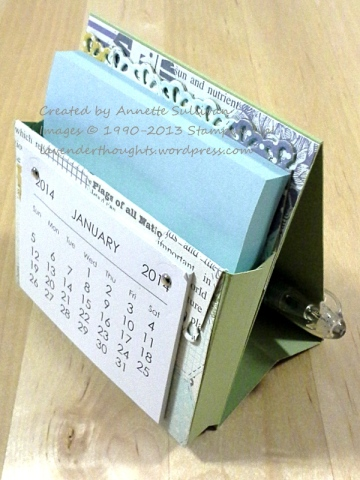 CCREW1213SF Afternoon Picnic Calendar Post It Holder