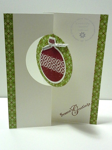 Ornament Keepsakes Limeade Cobbler Circle