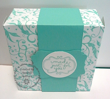 Bella Boutique Cabana Love Note Box
