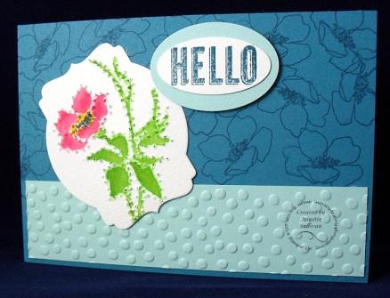 Fabulous Florets No-Line Piercing Indigo