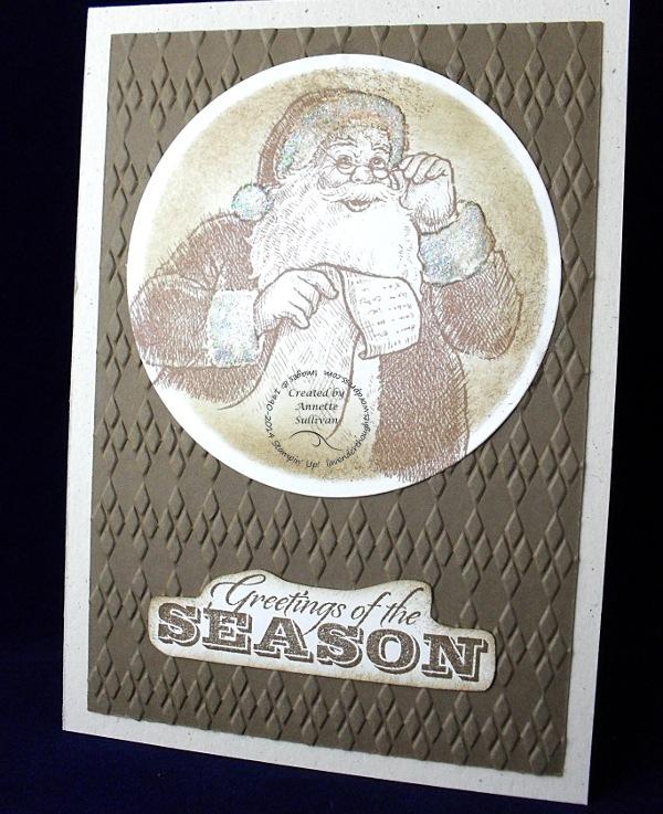 Santa's List ArgyleSuede