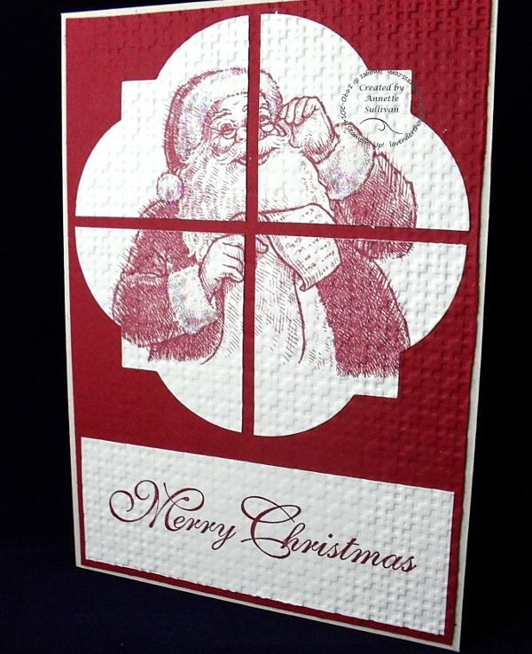 Santa's List Window FrameCobbler