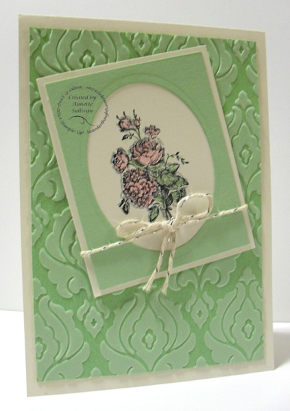 Best of Flowers Pistachio Letterpress