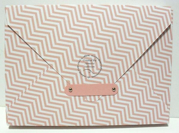 Blushing Bride Note Card Box