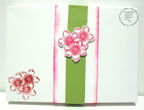 Peaceful Petals Note Card Box