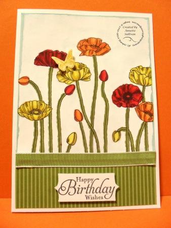 Pleasant Poppies Daffodil Olive
