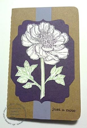Bloom With Hope Kraft Grid Journal