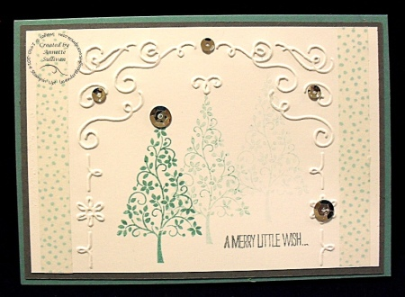 Festival of Trees Filigree Lagoon Washi