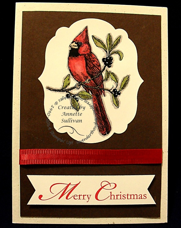 A Christmas Cardinal ChocolateCherry