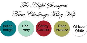artful stampers team challenge hop 03112014