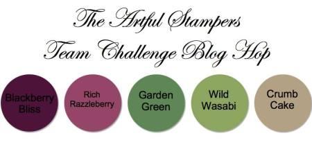 artful stampers team challenge hop 20102014