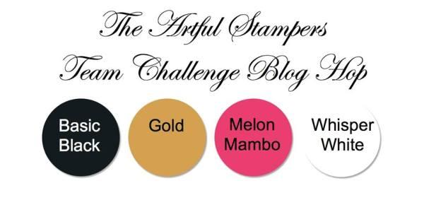 artful stampers team challenge hop 01122014