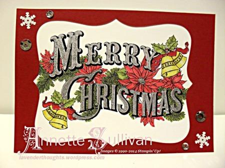 Christmas Postcard Silver Cobbler