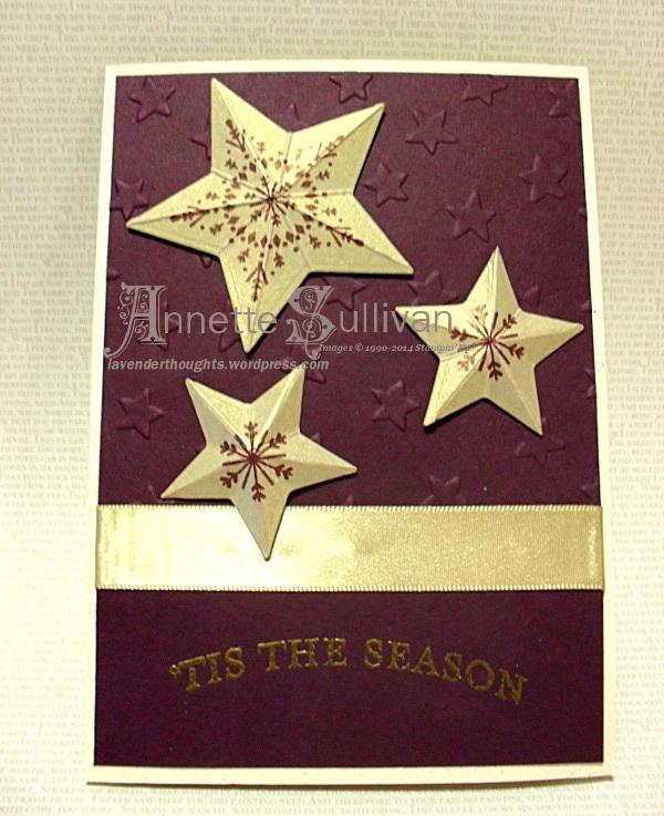 Many Merry Stars GoldBliss