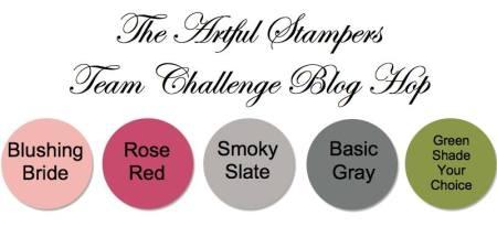 artful stampers team challenge hop 15122014
