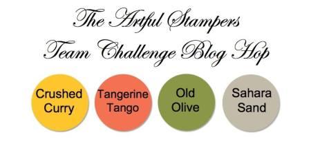 artful stampers team challenge hop 29122014