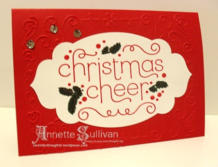 Cheerful Christmas Filigree Accents