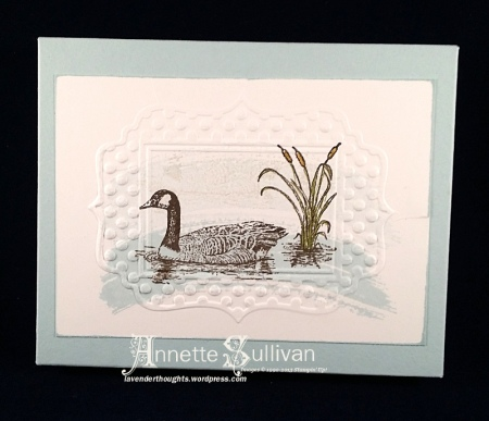 Moon Lake Duck Note Cards Box
