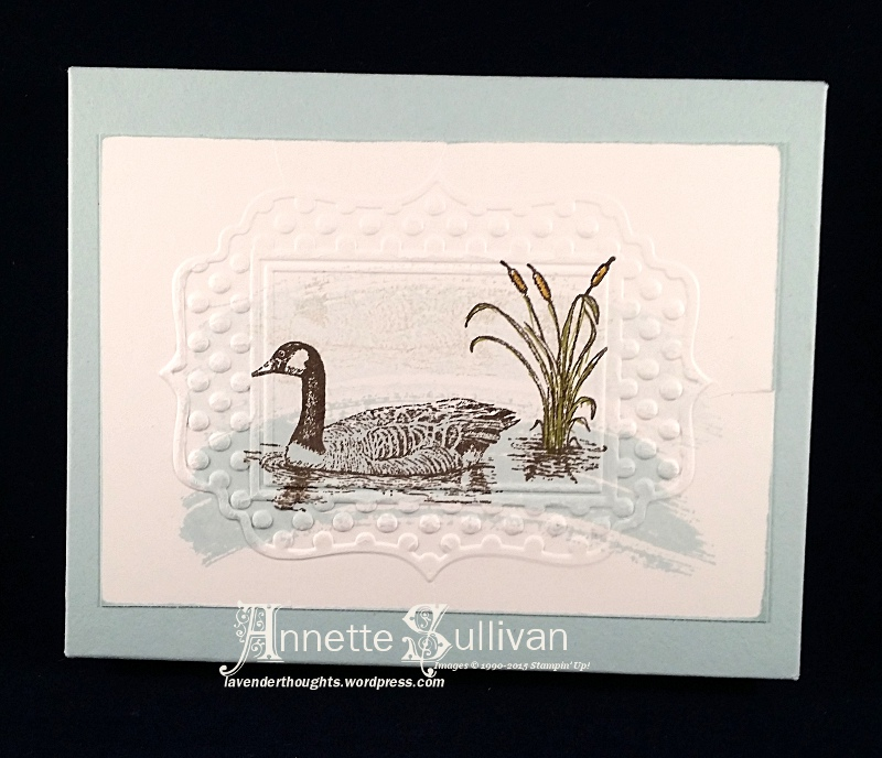 Moon Lake Duck Note Cards & GiftBox