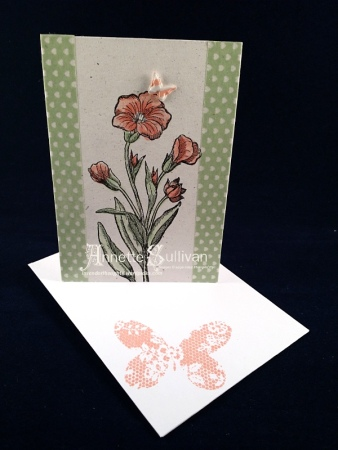 Butterfly Basics Flower Note Cards