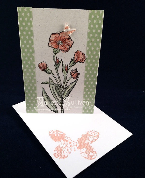 Butterfly Basics Flower Note Cards + GiftBox