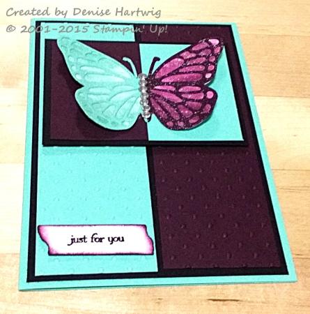 Denise Butterfly Split Negative