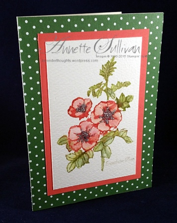 Sweetbriar Rose Fired Paint