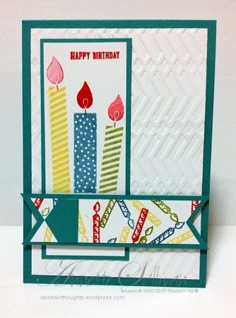 Build a Birthday Bermuda Candles