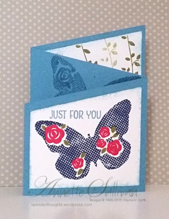Floral Wings Marina Trifold Angle CLOSED