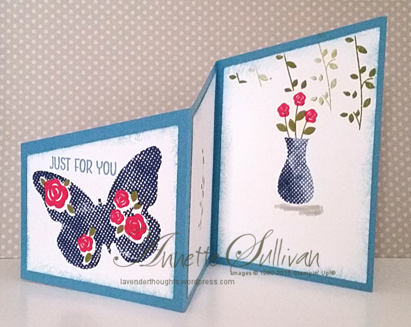 Trifold Angle CardTutorial