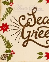 Berry Merry Boughs & Berries Suede Greetings Peek