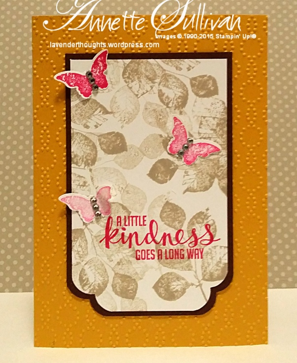 Artful Stampers Team Challenge ChocolateCurry