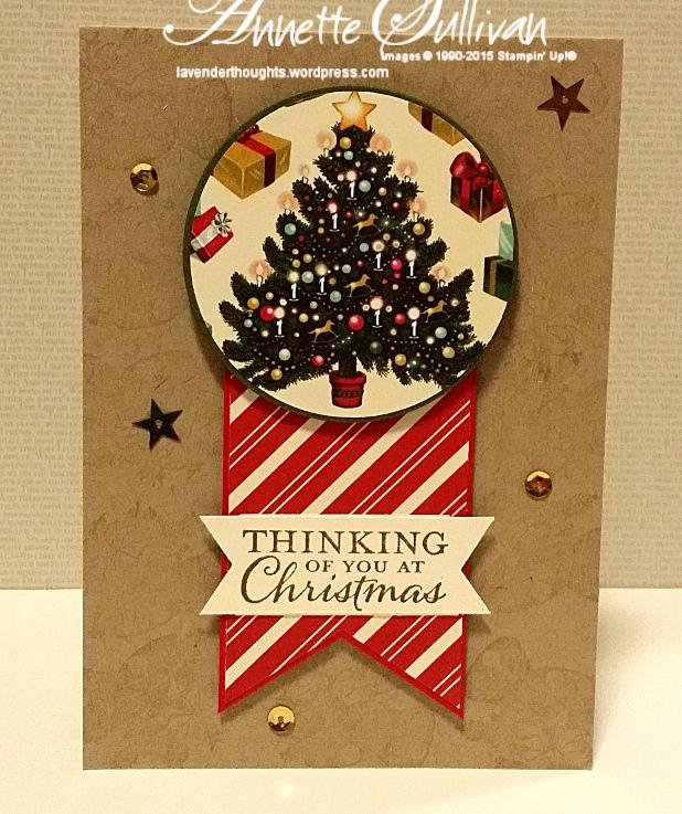 Cozy Christmas Circle Christmas TreeCake