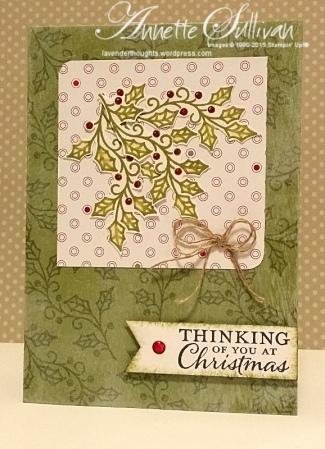 Embellished Ornaments Olive Holly